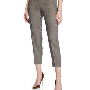 Piazza Sempione Audrey Glen-Plaid Pants Size 6